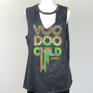 Jimi Hendrix VOODOO Child Graphic Tank Top | L